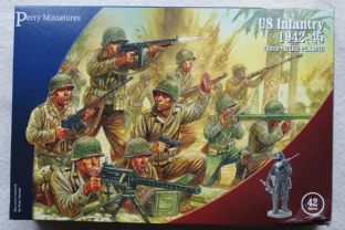 Perry Miniatures 28mm US-1 US Infantry 1942-45